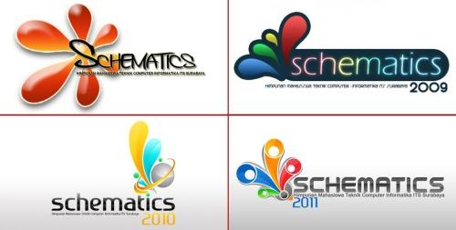 Logo Schematics 2008, 2009, 2010, dan 2011